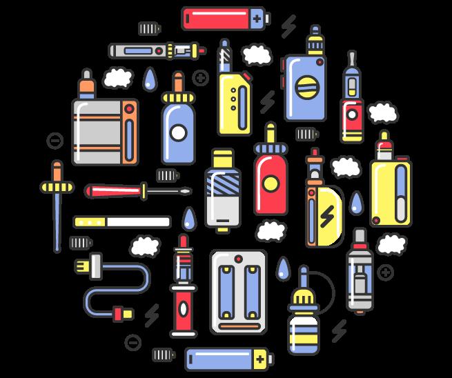 Accessoires & Pièces pour Cigarette Électronique